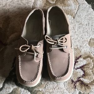 Woman's boat shoes